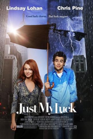плакат фильма Поцелуй на удачу