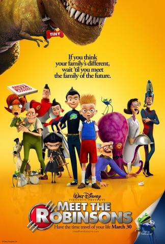плакат фильма В гости к Робинcонам