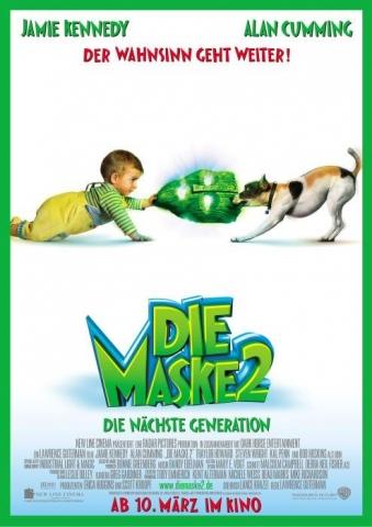 плакат фильма Сын Маски