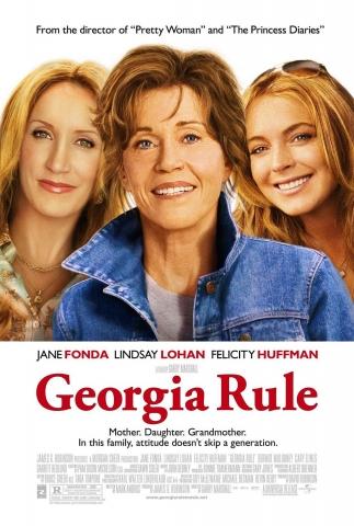 плакат фильма Крутая Джорджия