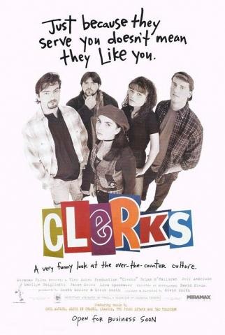 плакат фильма Клерки