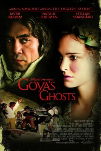 плакат фильма постер Призраки Гойи