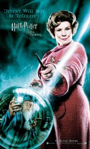 плакат фильма характер-постер Гарри Поттер и Орден Феникса