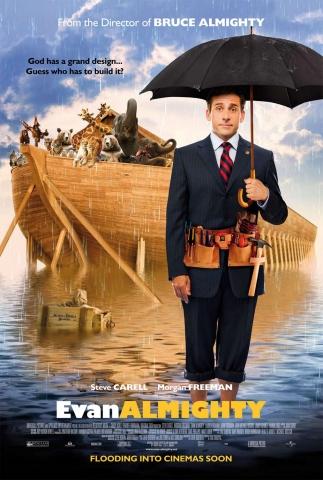плакат фильма Эван Всемогущий