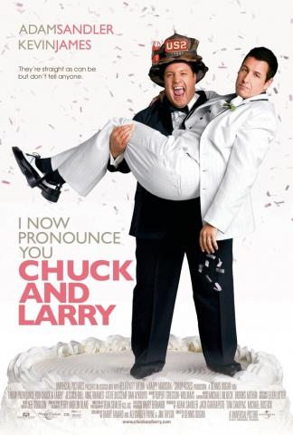 плакат фильма Чак и Ларри: Пожарная свадьба