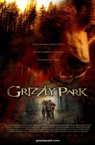 плакат фильма Гризли-парк*