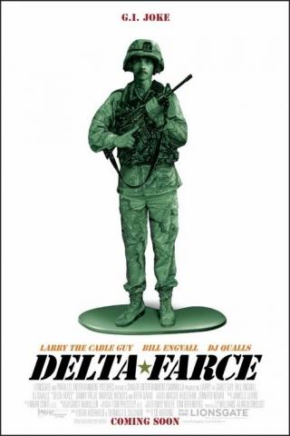 плакат фильма Операция «Дельта-фарс»