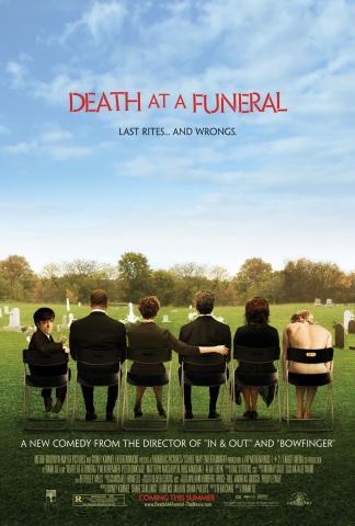 плакат фильма Смерть на похоронах