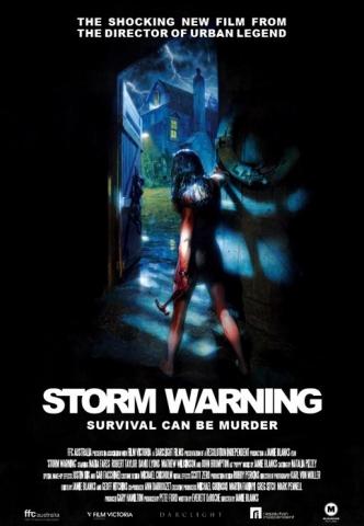 плакат фильма Штормовое предупреждение