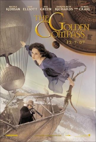 плакат фильма характер-постер Золотой компас Ева Грин,