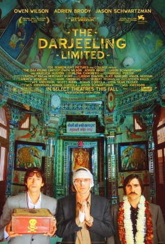 плакат фильма Поезд на Дарджилинг. Отчаянные путешественники.