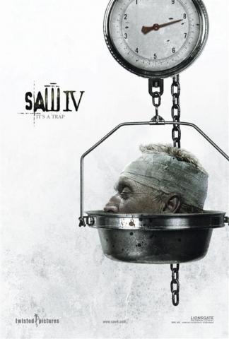 плакат фильма Пила IV