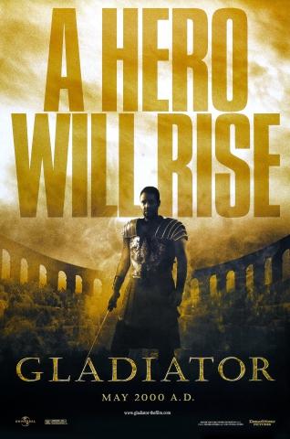 плакат фильма Гладиатор