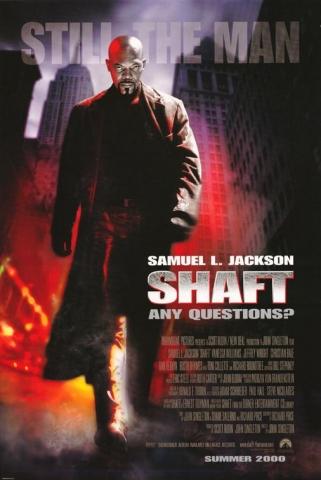 плакат фильма Детектив Шафт