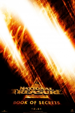плакат фильма Сокровище нации: Книга тайн