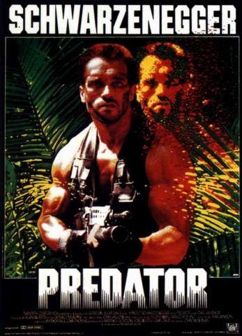 плакат фильма Хищник