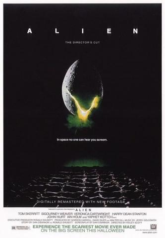 плакат фильма Чужой