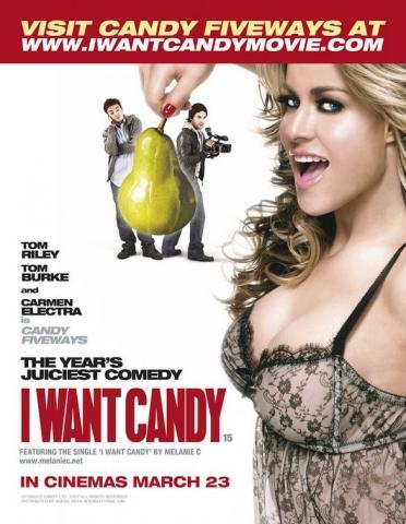 плакат фильма Я хочу конфетку