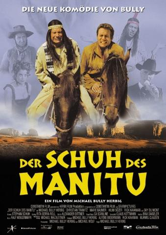 плакат фильма Мокасины Маниту