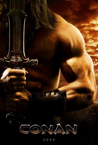 плакат фильма сейлс-арт Конан-варвар