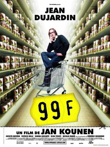 плакат фильма 99 франков