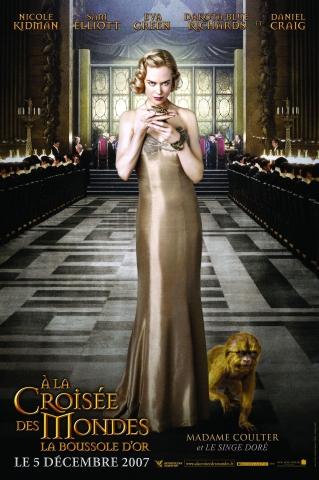 плакат фильма характер-постер Золотой компас Николь Кидман,