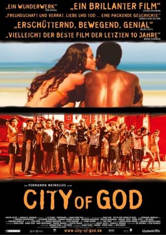 плакат фильма Город Бога