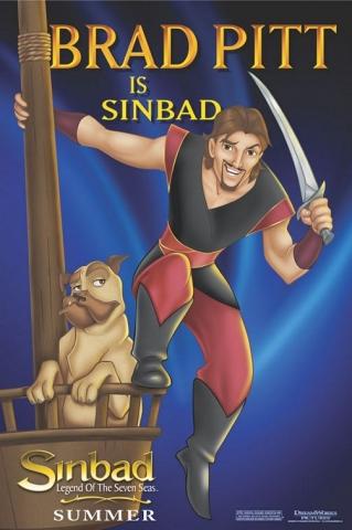 плакат фильма Синдбад: Легенда семи морей