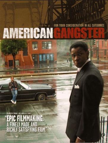 плакат фильма Гангстер