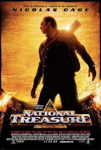 плакат фильма Сокровище нации