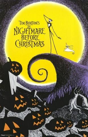 плакат фильма Кошмар перед Рождеством