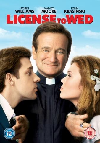 плакат фильма DVD Лицензия на брак