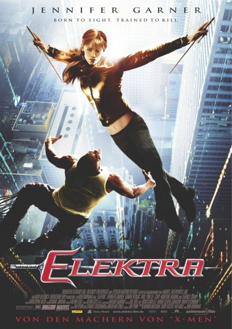 плакат фильма постер Электра