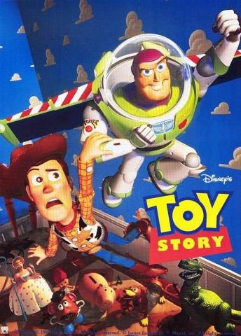 плакат фильма постер История игрушек