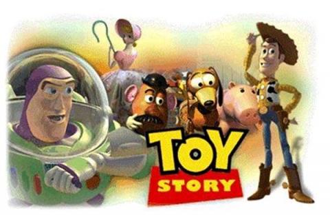 плакат фильма биллборды История игрушек