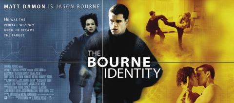 плакат фильма баннер Идентификация Борна