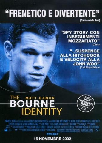 плакат фильма Идентификация Борна