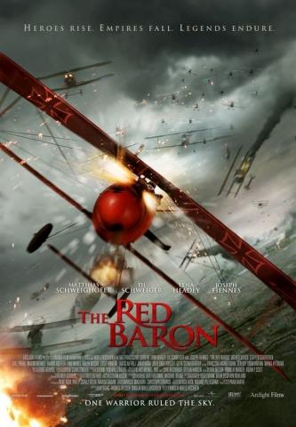 плакат фильма тизер Красный барон