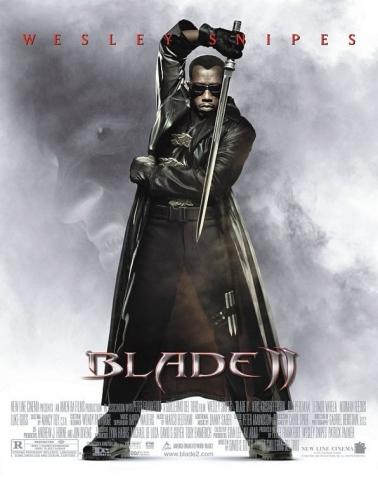 плакат фильма Блэйд II