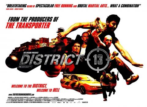 плакат фильма 13-й район