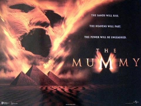 плакат фильма биллборды Мумия