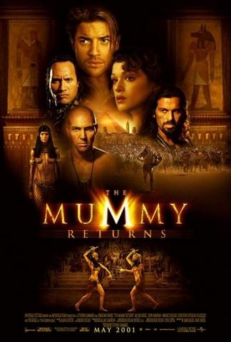 плакат фильма Мумия возвращается
