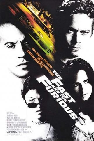 плакат фильма Форсаж
