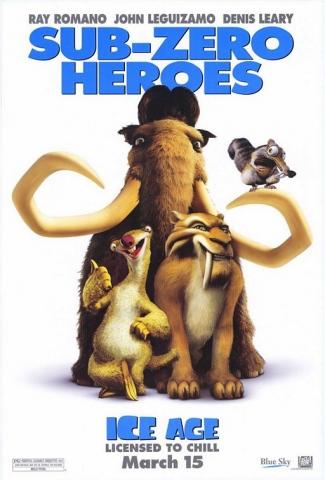 плакат фильма Ледниковый период