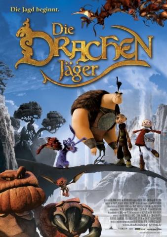 плакат фильма Охотники на драконов