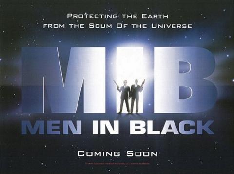 плакат фильма Люди в черном