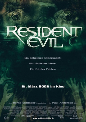 плакат фильма Обитель зла