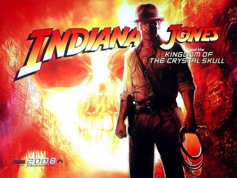 плакат фильма Индиана Джонс и Королевство Хрустального Черепа