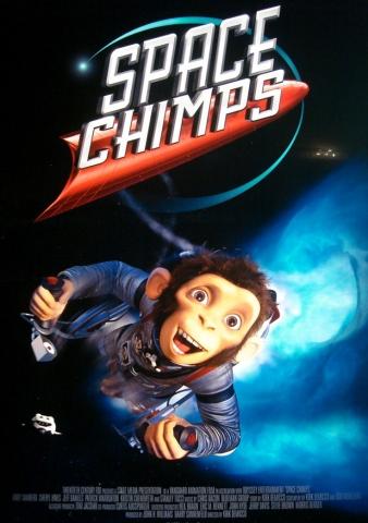 плакат фильма Мартышки в космосе