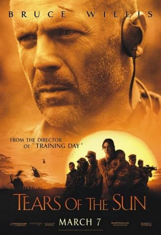 плакат фильма Слезы Солнца